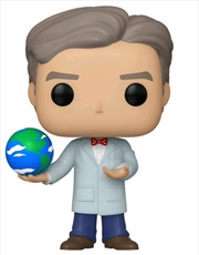 Icons - Bill Nye with Globe US Exclusive Pop! Vinyl [RS] | Pop Vinyl