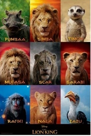 Lion King (Live Action) - Character Grid | Merchandise