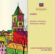 Dvorak - Symphonic Variations - Serenade for Strings | CD