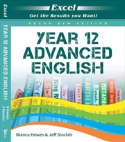Excel Year 12 Advanced English Study Guide | Paperback Book