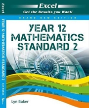 Excel Year 12 Standard Mathematics 2 Study Guide | Paperback Book