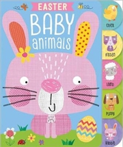 Easter Baby Animals Tabbed | Board Book