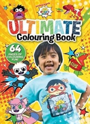 Ryan's World Ultimate Colouring Book | Paperback Book