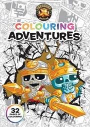 Treasure X Colouring Adventures (Moose)   Paperback Book