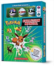 Pokemon Evolution Manual (Battle Box with Erasers) | Paperback Book