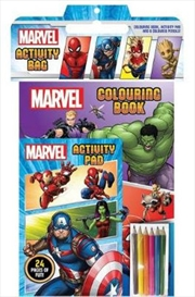 Marvel: Activity Bag | Paperback Book