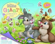 Disney Bunnies - Giant Activity Pad | Paperback Book