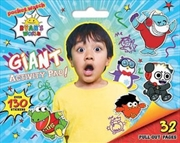 Ryan's World Giant Activity Pad | Paperback Book