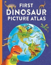 First Dinosaur Picture Atlas | Hardback Book