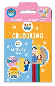 Abc Kids: Colouring And Activity Book | Paperback Book