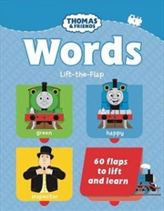 Thomas And Friends: Words Lift the Flap Book | Board Book