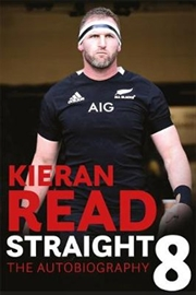 Kieran Read Straight 8 - The Autobiography | Paperback Book