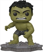 Avengers - Hulk (Assemble) US Exclusive Pop! Deluxe [RS] | Pop Vinyl