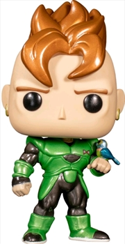Dragon Ball Z - Android 16 Metallic Pop! Vinyl [RS] | Pop Vinyl