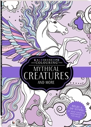 Kaleidoscope Colouring Mythical Creatures and More | Colouring Book