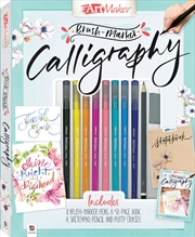 Art Maker Brush Marker Calligraphy | Hardback Book