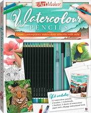 Art Maker Watercolour Pencils (Portrait) | Hardback Book
