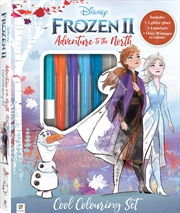 Kaleidoscope Colouring Frozen 2 Adventure to the North | Hardback Book