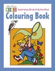 Steve Parish Colouring Book: Australian Birds & Butterflies | Paperback Book
