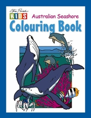 Steve Parish Colouring Book: Australian Seashore | Paperback Book