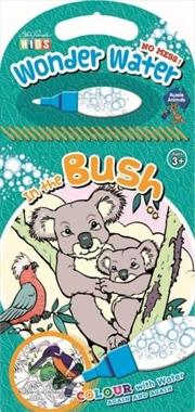 Steve Parish Wonder Water Colouring Book: In the Bush | Paperback Book