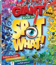 Giant Book Of Spot What | Colouring Book