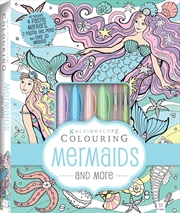Kaleidoscope Pastel Colouring Kit: Mermaids and More | Colouring Book