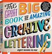 Great Big Book of Amazing Creative Lettering | Paperback Book