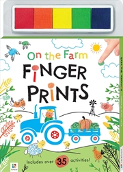 On the Farm Finger Prints Kit | Books