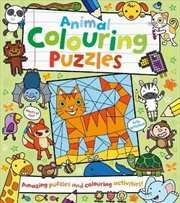 Animal Colouring Puzzles | Colouring Book