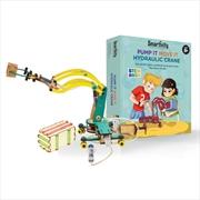 Smartivity Pump It Move It Hydraulic Crane | Toy
