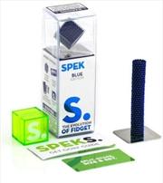 Solid Blue Speks Building Magnets | Toy