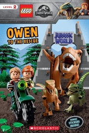 Owen to the Rescue (Lego Jurassic World: Reader with Stickers | Paperback Book