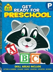 School Zone Get Ready for Preschool | Paperback Book