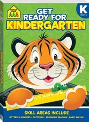 School Zone Get Ready for Kindergarten | Paperback Book