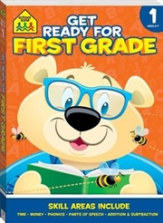 Get Ready For First Grade | Paperback Book