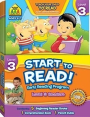 Start to Read! Early Reading Program - Level 3 Readers | Paperback Book