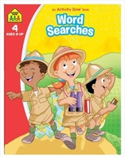 Word Searches: Activity Zone Book (2019 Ed) | Paperback Book