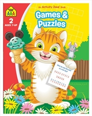 Games And Puzzles: An Activity Zone Book (2019 Ed) | Paperback Book