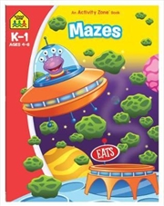 Mazes: An Activity Zone Book (2019 Ed) | Paperback Book