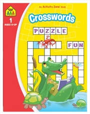 Crosswords: An Activity Zone Book (2019 Ed) | Paperback Book