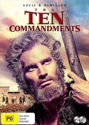Ten Commandments, The | DVD