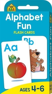 Alphabet Fun : School Zone Flashcards | Paperback Book