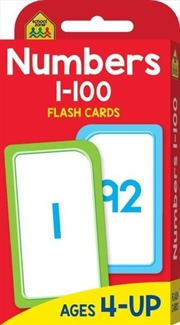 Numbers 1-100 Flash Cards | Paperback Book