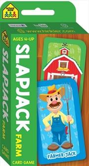 School Zone Slapjack Flash Card Game | Merchandise