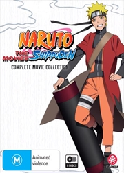 Naruto Shippuden | Complete Movie Collection | Blu-ray