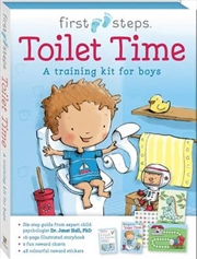 Toilet Time - A Training Kit for Boys | Books