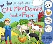 First Steps Old MacDonald Sound Book | Books