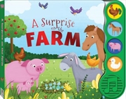 First Steps A Surprise on the Farm Sound Book | Board Book