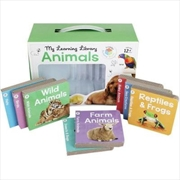 Building Blocks Learning Library Animals | Books